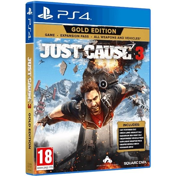 Just Cause 3 Gold - PS4 - Console Game
