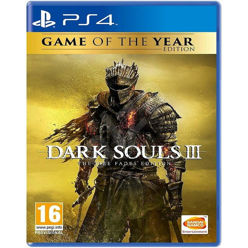 Dark Souls III: The Fire Fades Edition (GOTY) - PS4 - Console Game