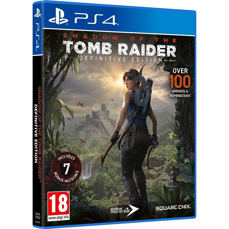 Shadow of the Tomb Raider: Definitive Edition - PS4 - Console Game
