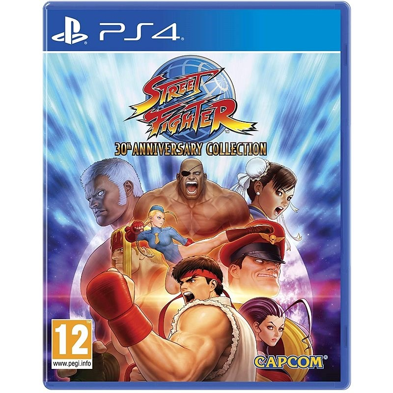 Street Fighter 30th Anniversary Collection - PS4 - Console Game