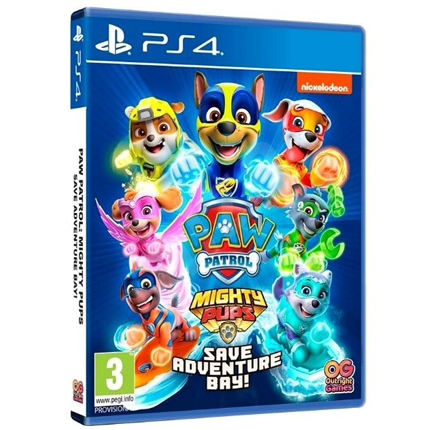 Paw Patrol: Mighty Pups Save Adventure Bay - PS4 - Console Game