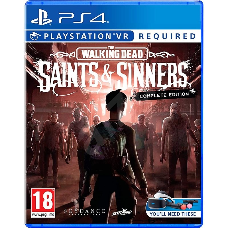 The Walking Dead: Saints and Sinners - Complete Edition - PS4 VR - Console Game