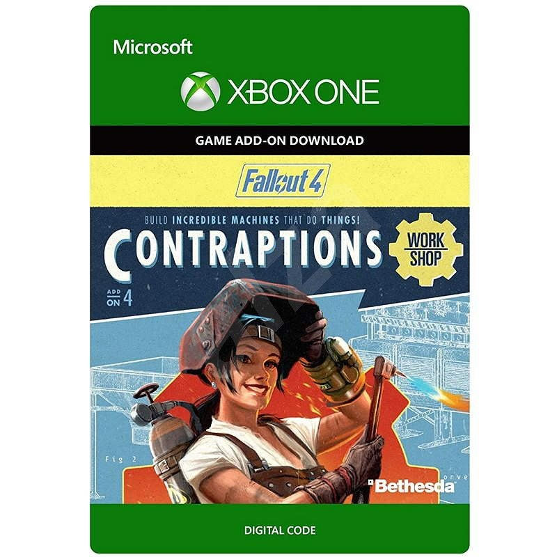 Fallout 4: Contraptions Workshop - Xbox One DIGITAL - Gaming Accessory
