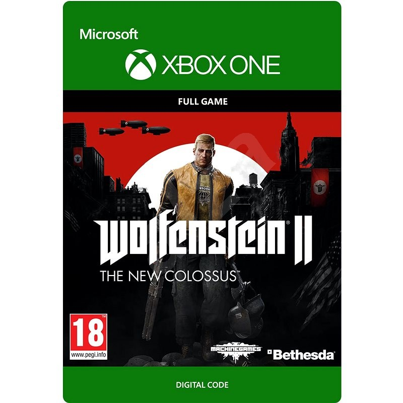 Wolfenstein II: The New Colossus - Xbox One Digital - Console Game
