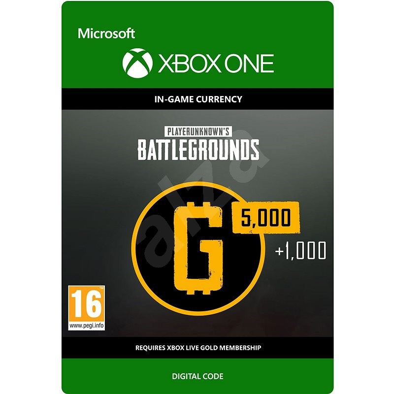 PLAYERUNKNOWN'S BATTLEGROUNDS 6,000 G-Coin  - Xbox One DIGITAL - Gaming Accessory