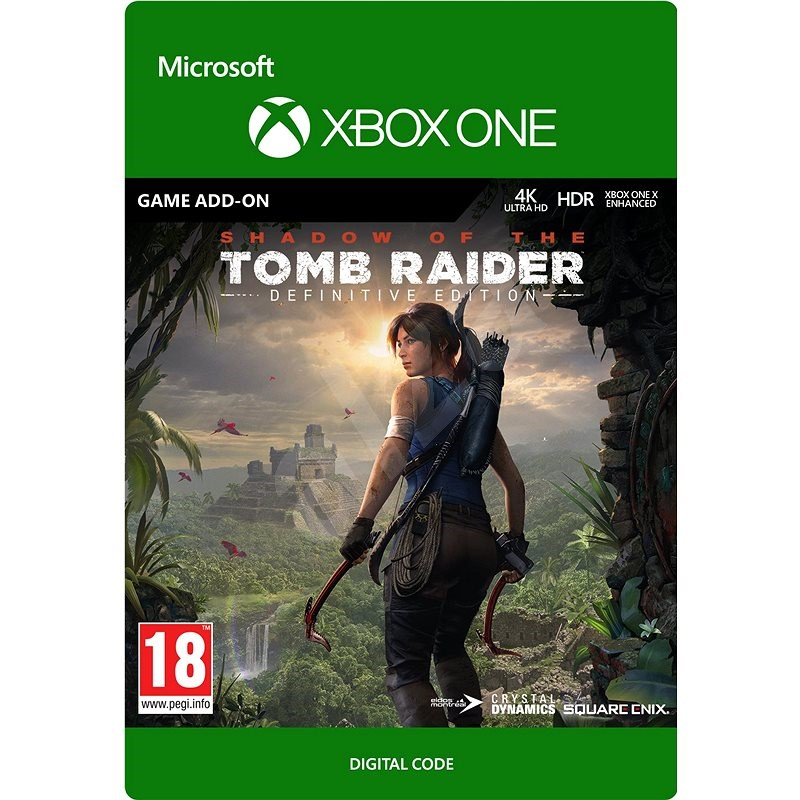Shadow of the Tomb Raider: Definitive Edition - Extra Content - Xbox Digital - Gaming Accessory