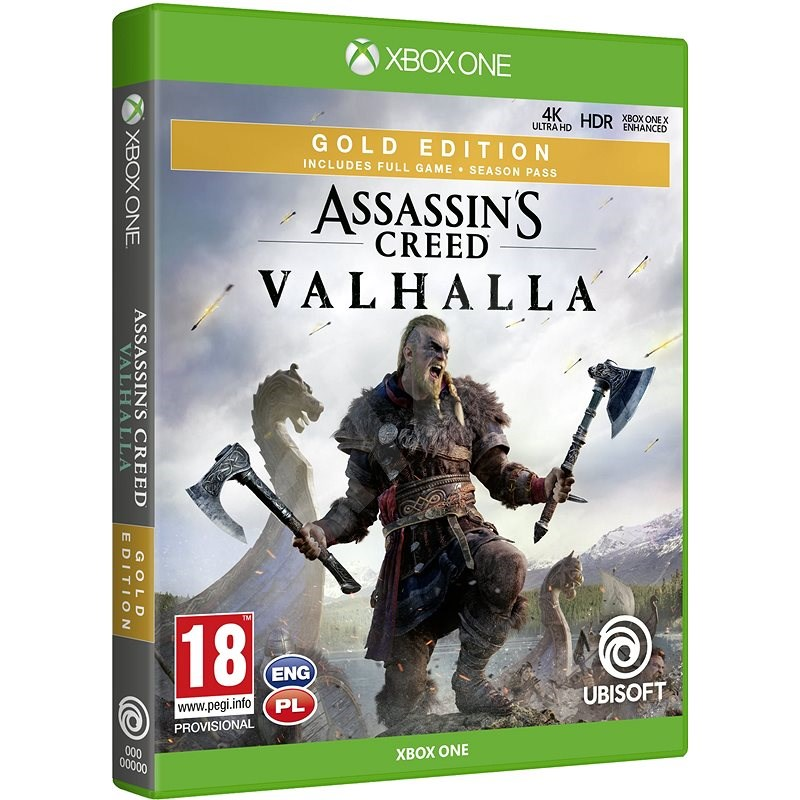 Assassin's Creed Valhalla - Gold Edition - Xbox One - Console Game