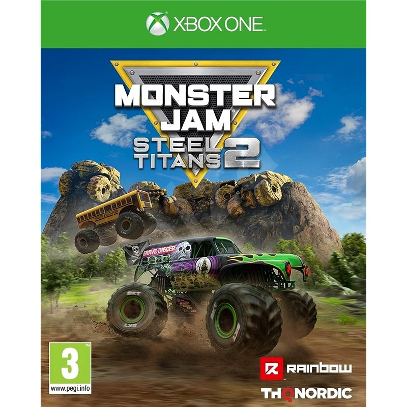 Monster Jam: Steel Titans 2 - Xbox - Console Game