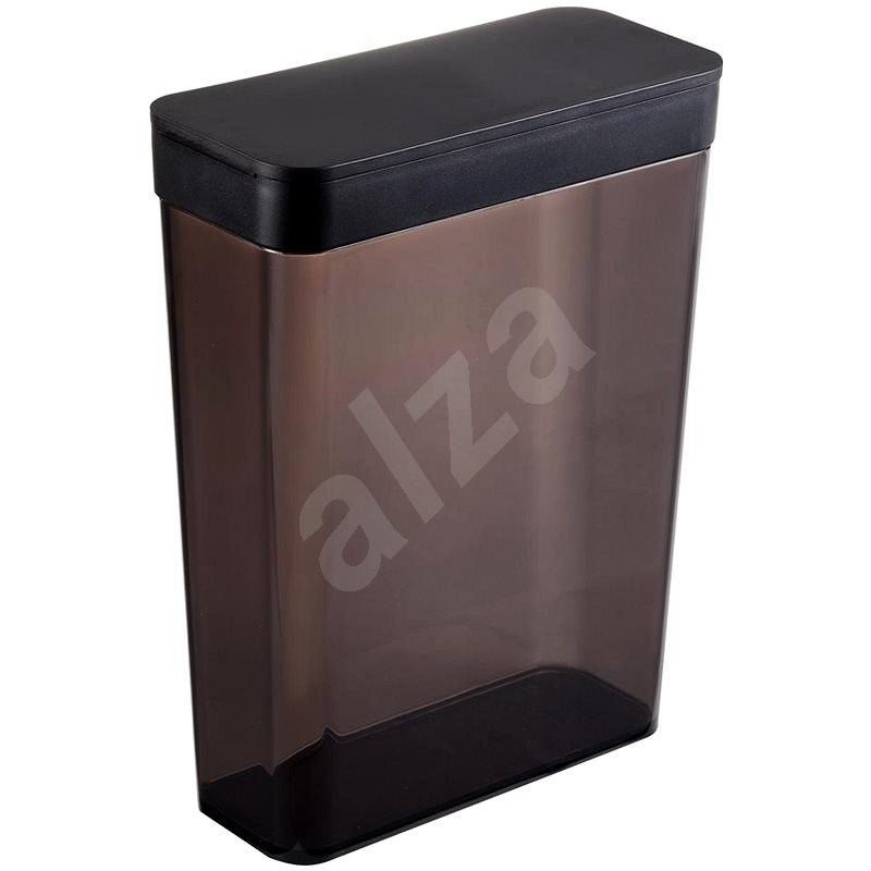 YAMAZAKI Food Container Tower 4953, 2,3L, Black - Container