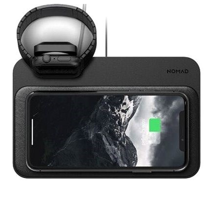 Nomad Base Station Apple Watch Stand Black Wireless Charger Alzashop Com