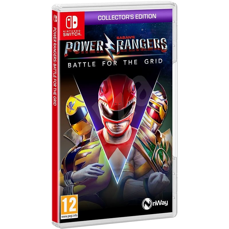 Power Rangers: Battle for the Grid - Collector's Edition - Nintendo Switch - Console Game