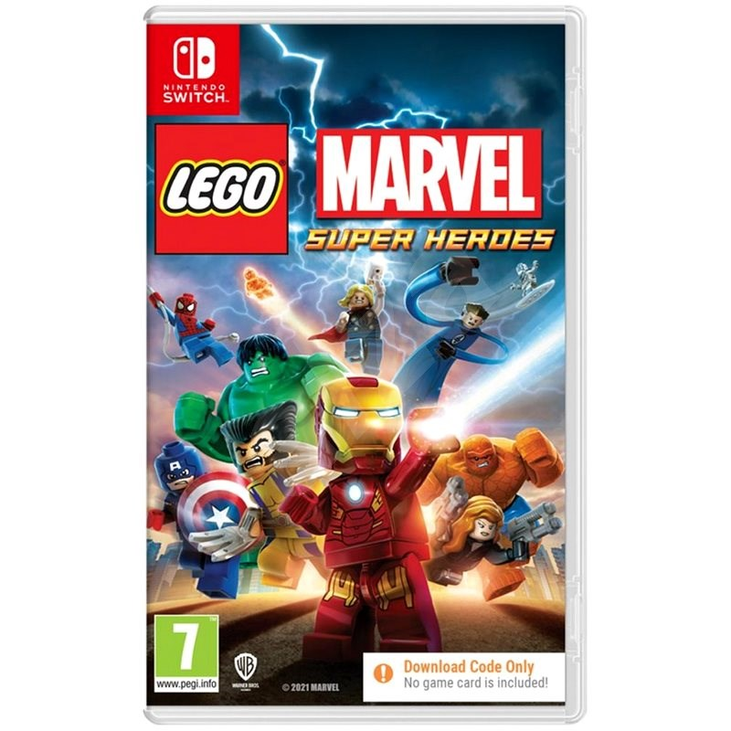 LEGO Marvel Super Heroes - Nintendo Switch - Console Game