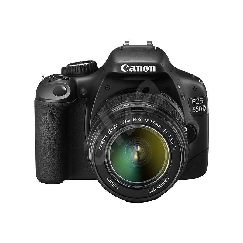 Canon EOS 550D + EF-S 18-55 IS  - DSLR Camera