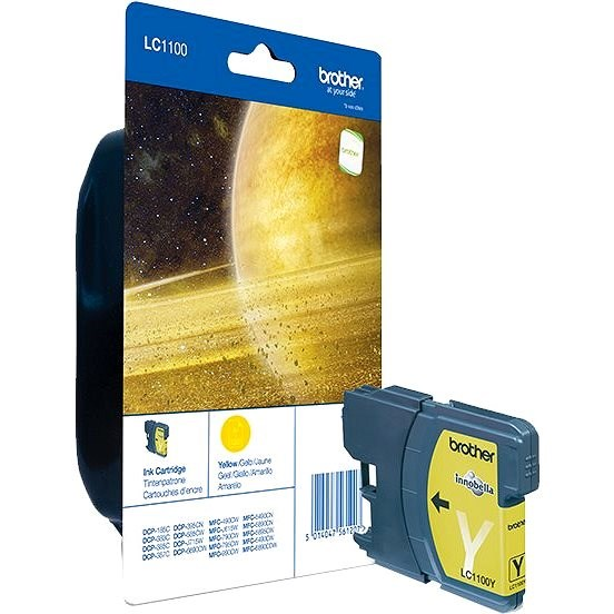 Brother LC-1100Y - Yellow - Cartridge
