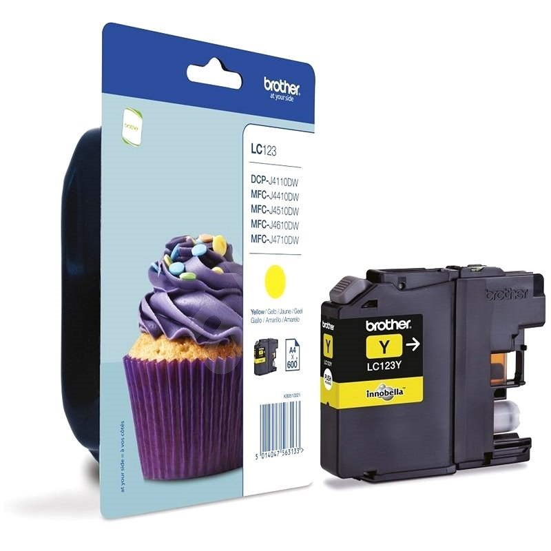 Brother LC-123Y Yellow - Cartridge