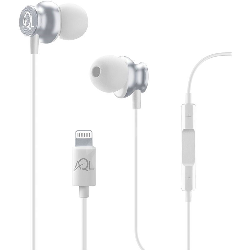 Cellularline Whirl with Lightning Connector AQL MFI Certification, White - Headphones