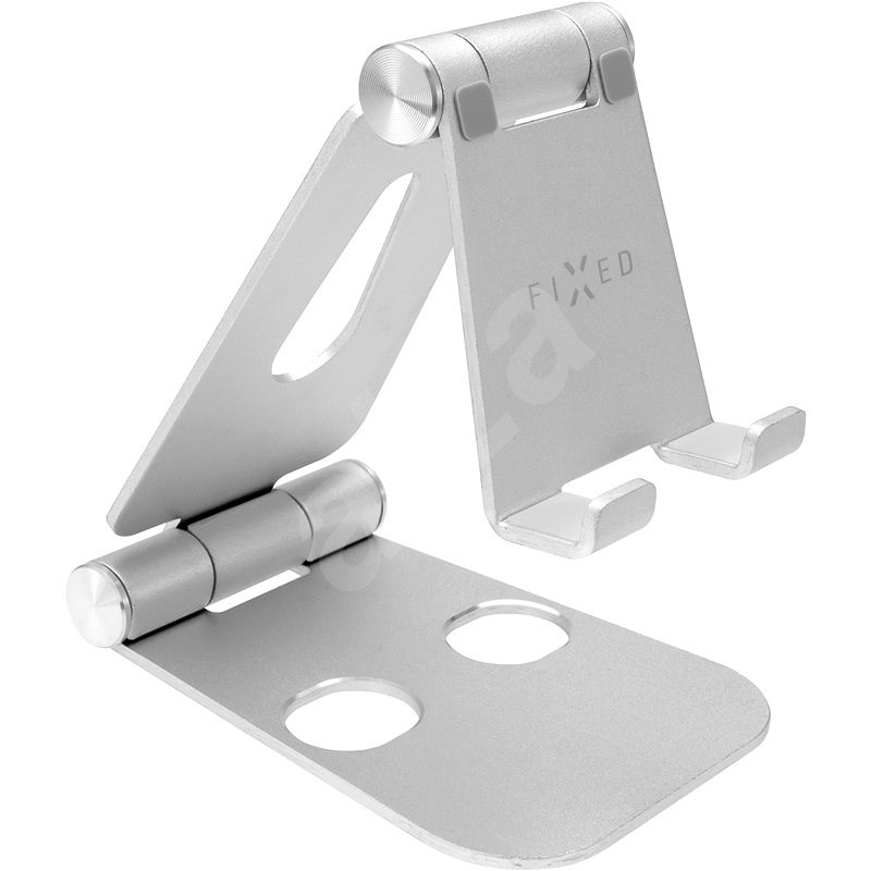 FIXED Frame Phone on Table for Mobile Phones Silver - Stand