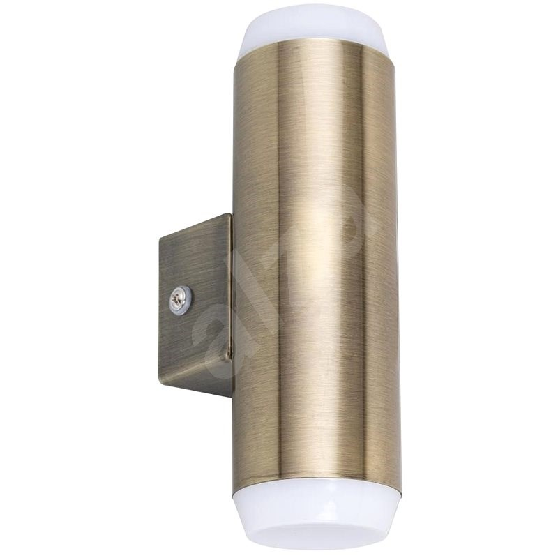 Rabalux - LED OUTDOOR WALL LAMP 2xLED/4W/230V Bronze IP44 - Wall Lamp