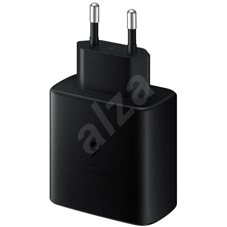 Samsung Charger with Fast Charging Support (45W) Black - AC Adapter