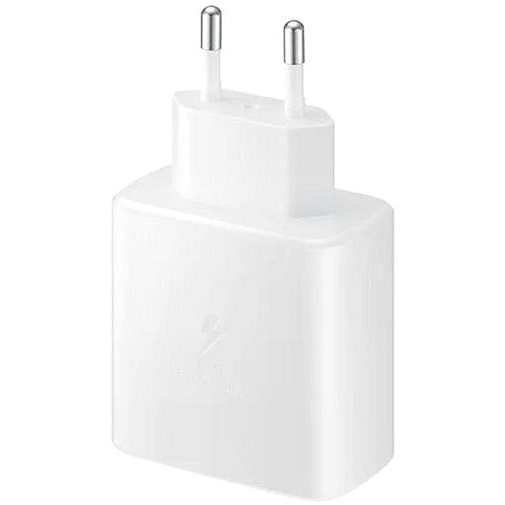 Samsung Charger with Fast Charging Support (45W) White - AC Adapter