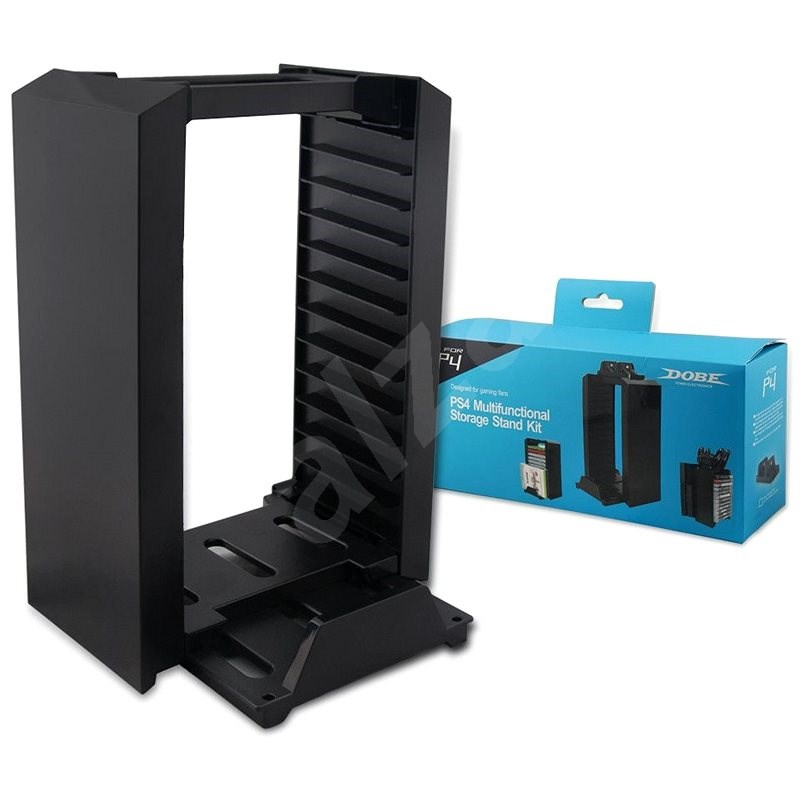 Dobe PS4 Disc Storage Kit - Game Console Stand
