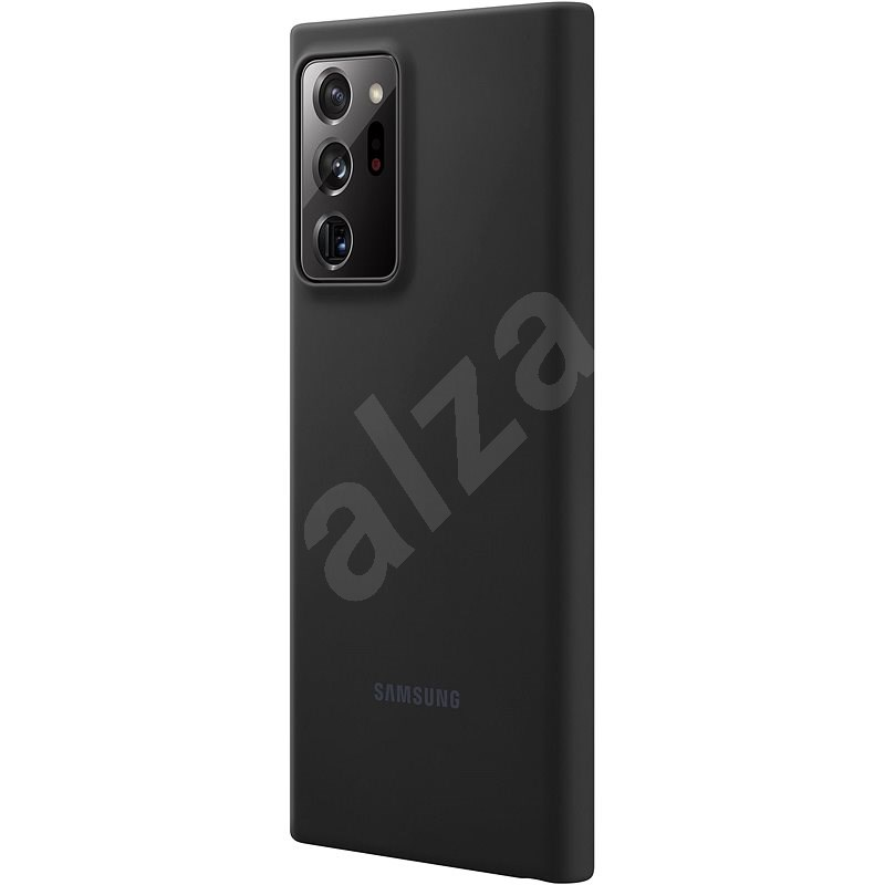 Samsung Silicone Back Case for Galaxy Note20 Ultra 5G Black - Mobile Case