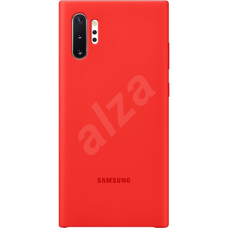 Samsung Silicone Back Cover for Galaxy Note10+ red - Mobile Case