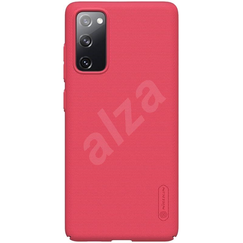 Nillkin Frosted Cover for Samsung Galaxy S20 FE Bright Red - Mobile Case