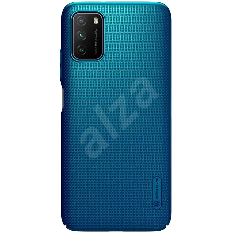 Nillkin Frosted Case for Xiaomi Poco M3 Peacock Blue - Mobile Case