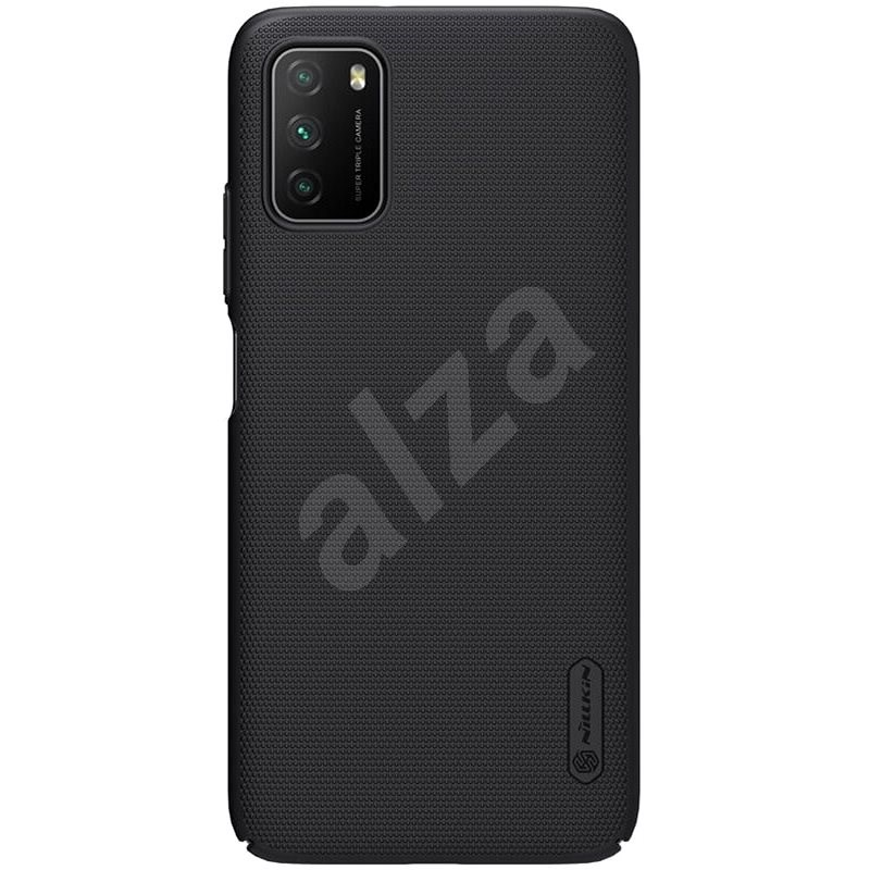 Nillkin Frosted Cover for Xiaomi Poco M3 Black - Mobile Case