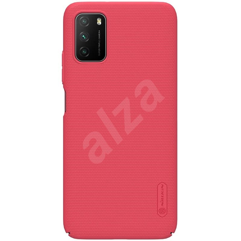 Nillkin Frosted Cover for Xiaomi Poco M3 Bright Red - Mobile Case