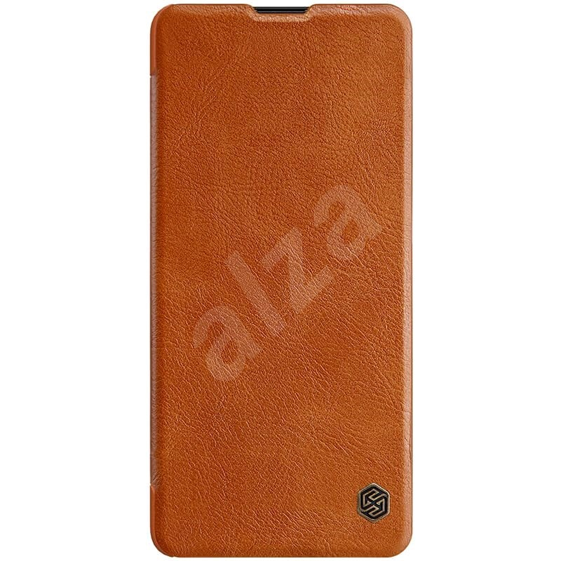 Nillkin Qin for Samsung Galaxy Note 10 Lite Brown - Mobile Phone Case