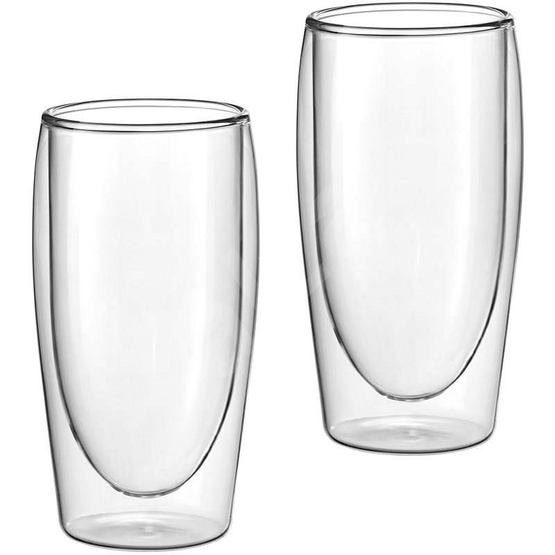 Scanpart Thermo Coffee glass set - Latte, 2pcs 350ml - Glass for Hot Drinks