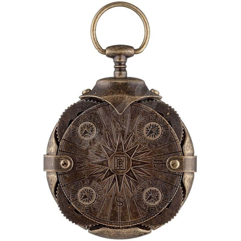 IRONGLYPH Compass 16GB, Antique Gold - Flash Drive