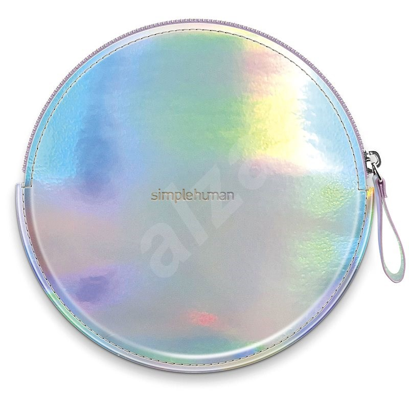 Simplehuman Sensor Compact Zip Case Rainbow Case with Zipper for Pocket Mirrors ST9006 - Travel Case