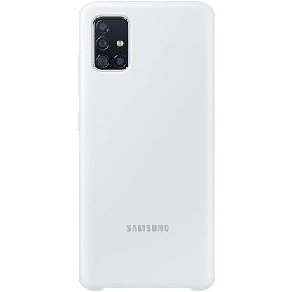 Samsung Silicone Back Case for Galaxy A51 White - Mobile Case