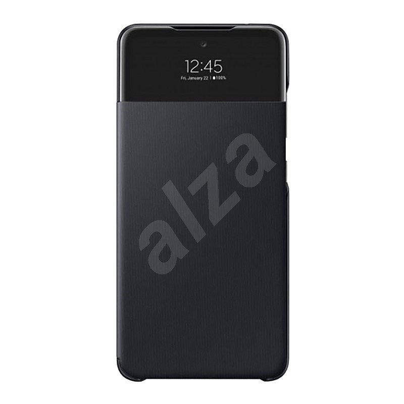 Samsung S-View Case for Galaxy A52 Black - Mobile Case