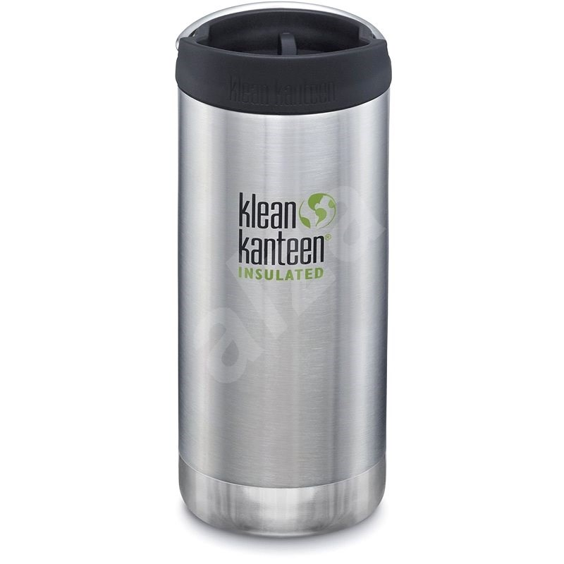 Klean Kanteen 12oz TKWide w/CC - Bushed Stainless - Thermos