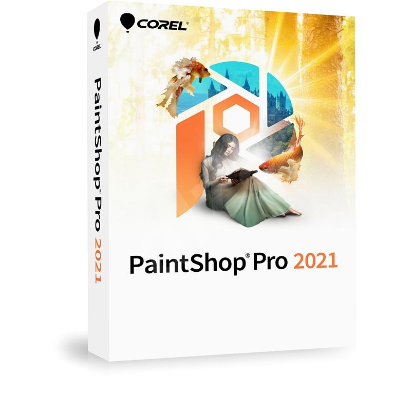 PaintShop Pro 2021 Corporate Edition for 1 User (Electronic License) - Graphics Software