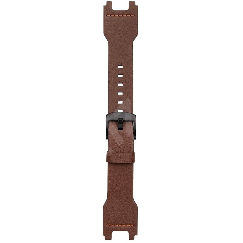 Tactical Leather Strap for Xiaomi Amazfit T-Rex Brown - Watch Band
