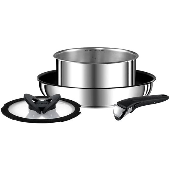 Tefal Set of Dishes 4 pcs Ingenio Preference Stainless-steel L9409032 - Cookware Set