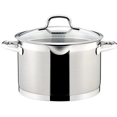 TESCOMA 24cm PRESIDENT Pot with Lid Cover- 7 Litres - Pot