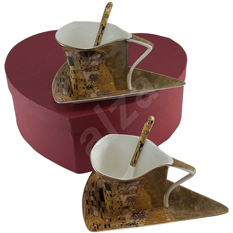 HOME ELEMENTS Shapo Set withSpoons - Klimt - Set of Cups