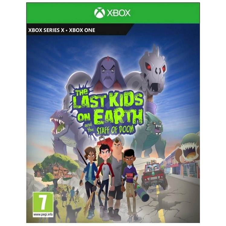 The Last Kids on Earth and the Staff of Doom - Xbox - Console Game