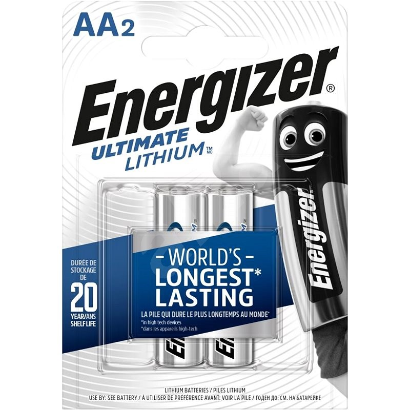 Energizer Ultimate Lithium AA/2 - Disposable batteries