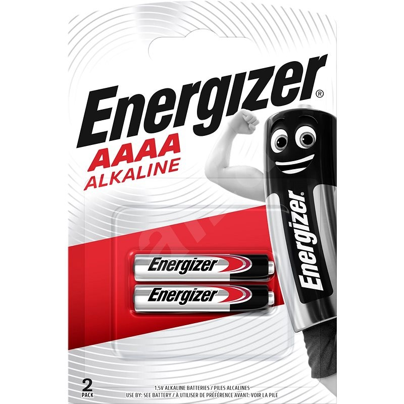 Energizer Special Alkaline Battery AAAA (E96/25A) 2 Pieces - Disposable Battery