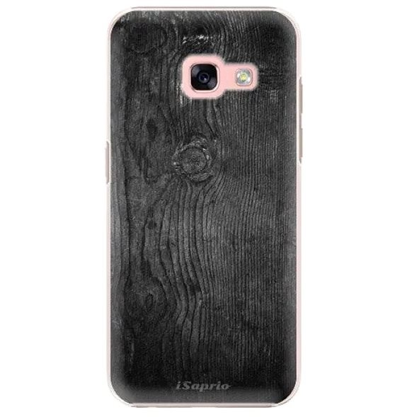 iSaprio Black Wood for Samsung Galaxy A3 2017 - Mobile Case