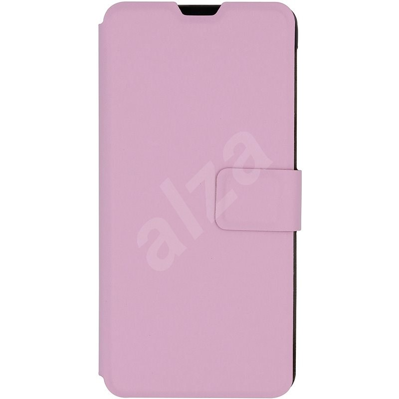 iWill Book PU Leather Case for Samsung Galaxy A20e, Pink - Mobile Phone Case