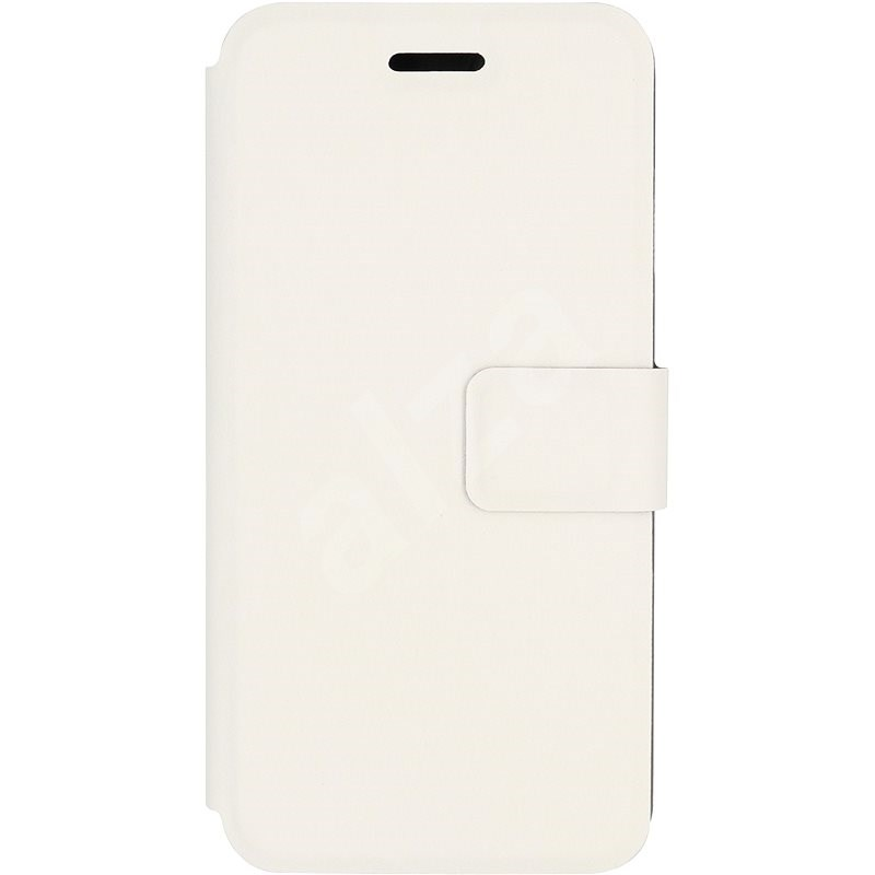 iWill Book PU Leather Case for Apple iPhone 7/8/SE 2020, White - Mobile Phone Case