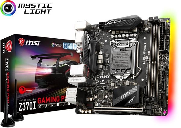 MSI Z370I GAMING PRO CARBON AC - Motherboard